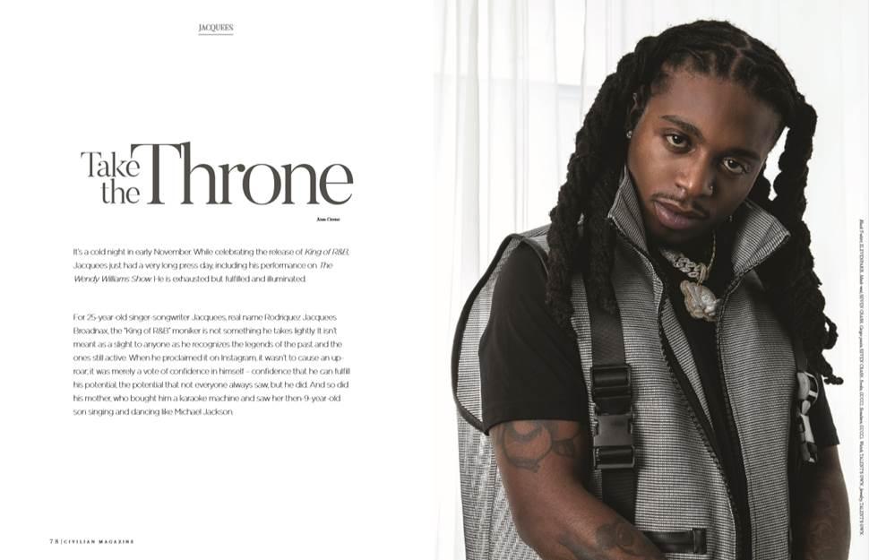 Jacquees Civilian Magazine Winter 2019 Feature